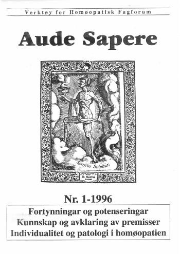 AudeSapere_01_1996_front
