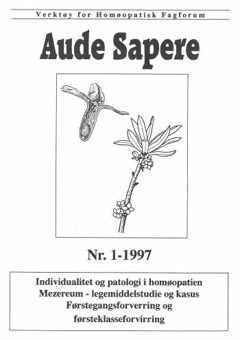 AudeSapere_01_1997_front
