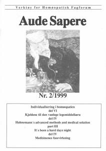 AudeSapere_02_1999_front