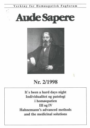 AudeSapere_02_1998_front